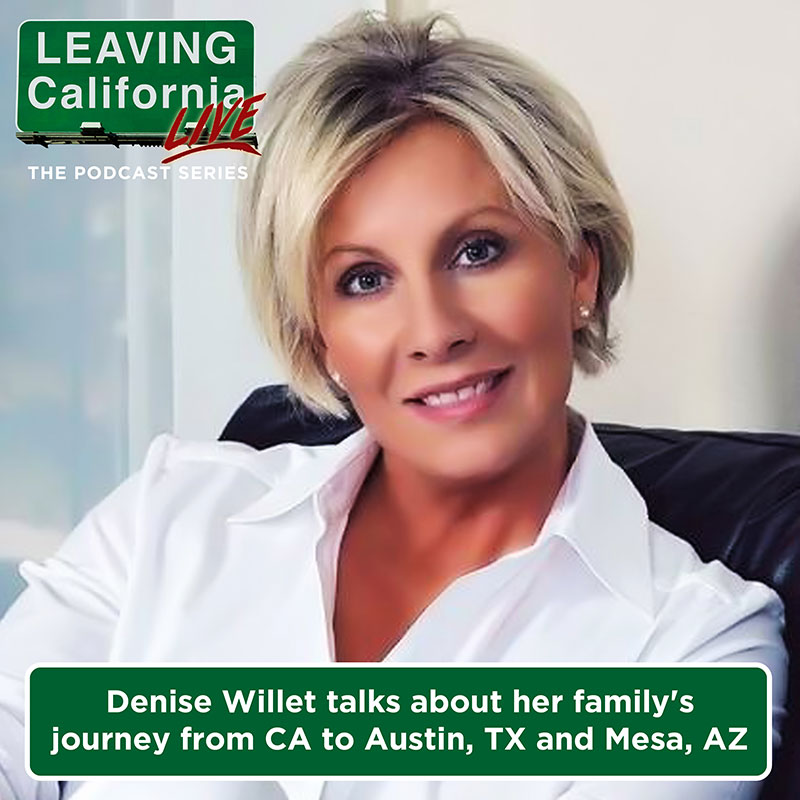 Denise Willet Relocates From CA to Austin, TX then to Phoenix, AZ